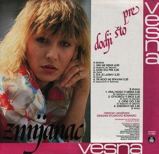 Vesna Zmijanac - Diskografija R-739610