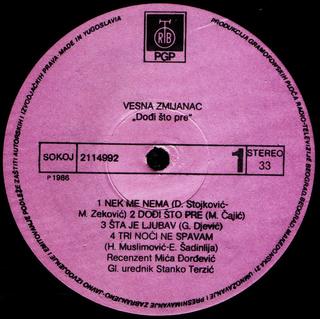 Vesna Zmijanac - Diskografija R-739611