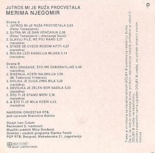 Merima Kurtis Njegomir - Diskografija  R-751720