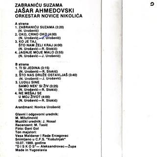 Jasar Ahmedovski - Diskografija R-755521
