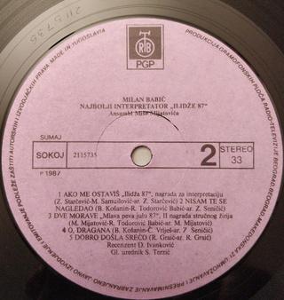 Milan Babic - Diskografija 2 R-757313