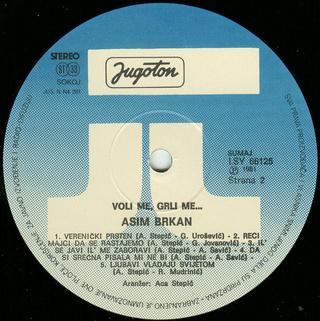 Asim Brkan - Diskografija 2 R-763314