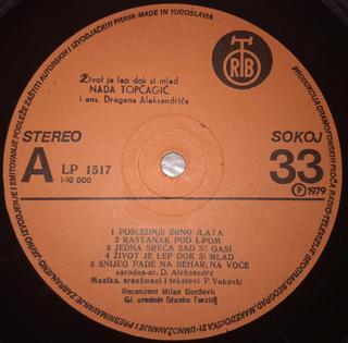 Nada Topcagic - Diskografija R-763613