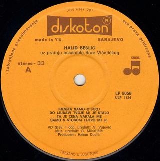 Halid Beslic - Diskografija R-763910