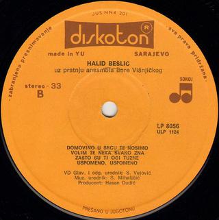 Halid Beslic - Diskografija R-763913