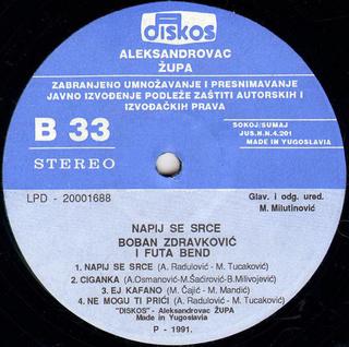 Boban Zdravkovic - Diskografija R-766027