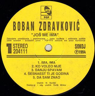 Boban Zdravkovic - Diskografija R-766028