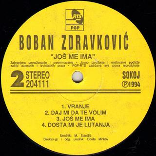 Boban Zdravkovic - Diskografija R-766029