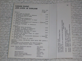 Hasan Dudic - Diskografija R-774419