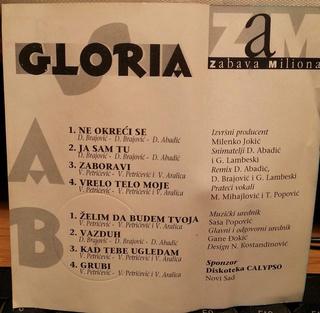 Gloria (Vesna Blagojevic) - Diskografija  R-776318