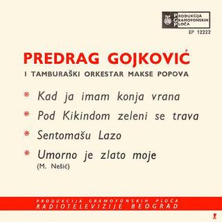 Predrag Gojkovic Cune - Diskografija  R-779111