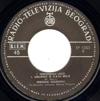 Predrag Gojkovic Cune - Diskografija  R-779113