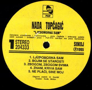 Nada Topcagic - Diskografija R-781916