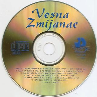 Vesna Zmijanac - Diskografija R-784215
