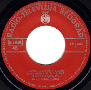 Predrag Gojkovic Cune - Diskografija  R-785411