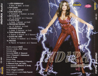 Indira Radic - Diskografija R-787010