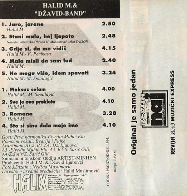 Halid Muslimovic - Diskografija R-807316