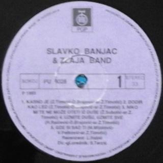Slavko Banjac - Diskografija  R-811114