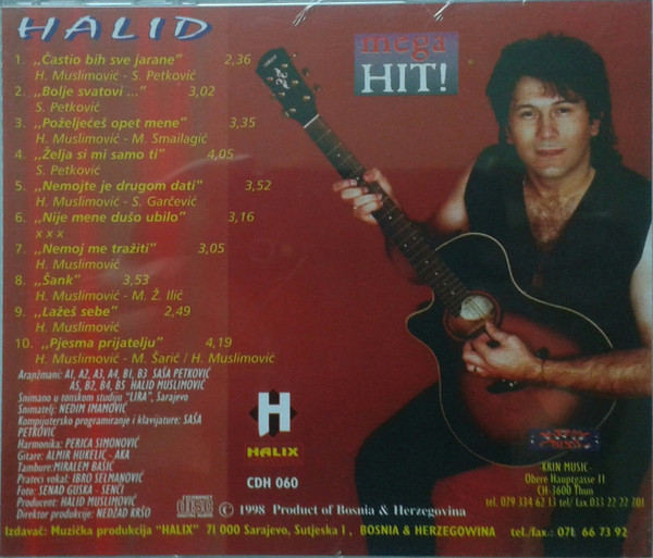 Halid Muslimovic - Diskografija R-832411