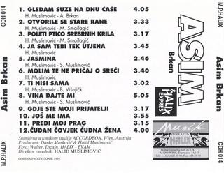 Asim Brkan - Diskografija 2 R-837612