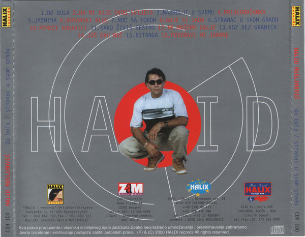 Halid Muslimovic - Diskografija R-838013