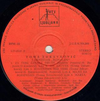 Toma Zdravkovic - Diskografija R-838810