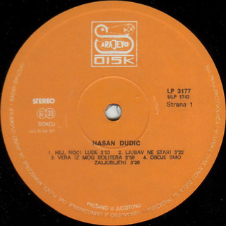 Hasan Dudic - Diskografija R-854916