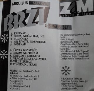 Miroljub Brzakovic Brzi- Diskografija R-856316