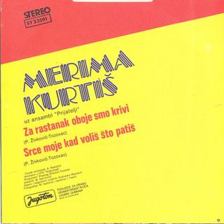 Merima Kurtis Njegomir - Diskografija  R-891812