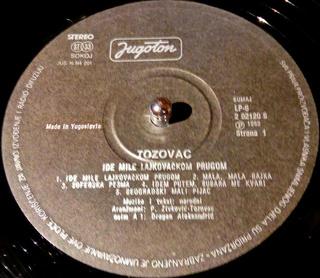 Predrag Zivkovic Tozovac - Diskografija R-915411