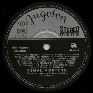 Kemal Monteno - Diskografija  R-925411