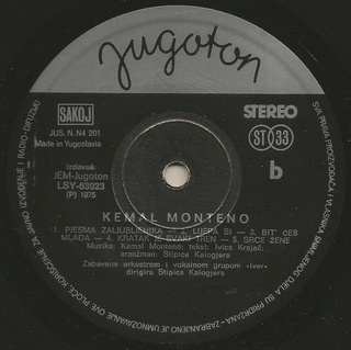 Kemal Monteno - Diskografija  R-925421