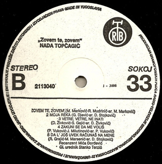 Nada Topcagic - Diskografija R-926612
