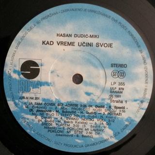 Hasan Dudic - Diskografija R-932111