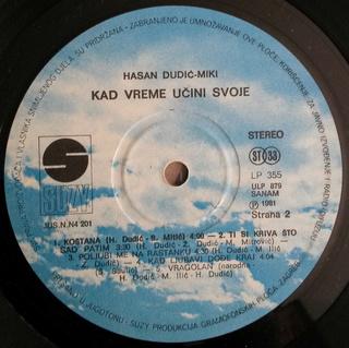Hasan Dudic - Diskografija R-932113