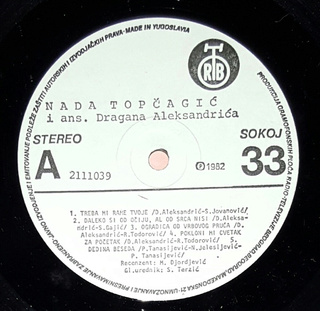 Nada Topcagic - Diskografija R-949012