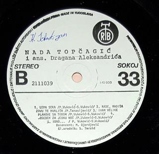 Nada Topcagic - Diskografija R-949014