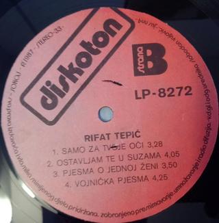 Rifat Tepic - Diskografija 2 R-989311