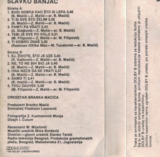Slavko Banjac - Diskografija  R-993412
