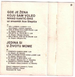 Nihad Kantic Sike - Diskografija  Sike_110