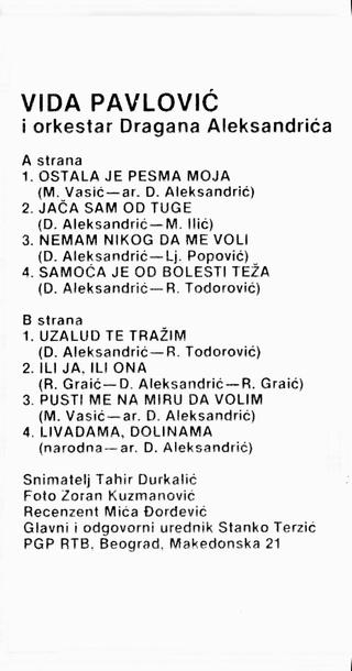 Vida Pavlovic - Diskografija 2 Vida_p11