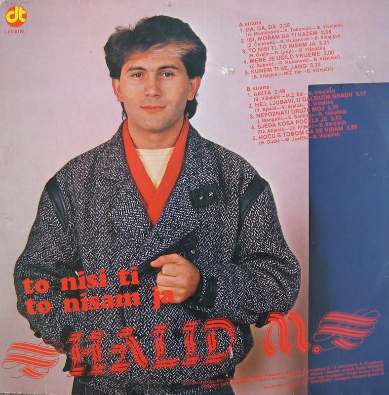 Halid Muslimovic - Diskografija Zadnja13