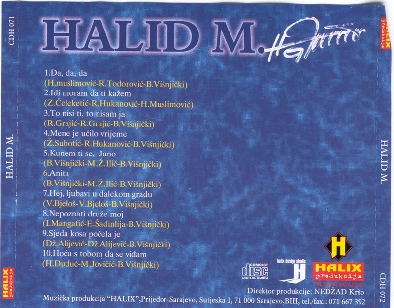 Halid Muslimovic - Diskografija Zadnja14