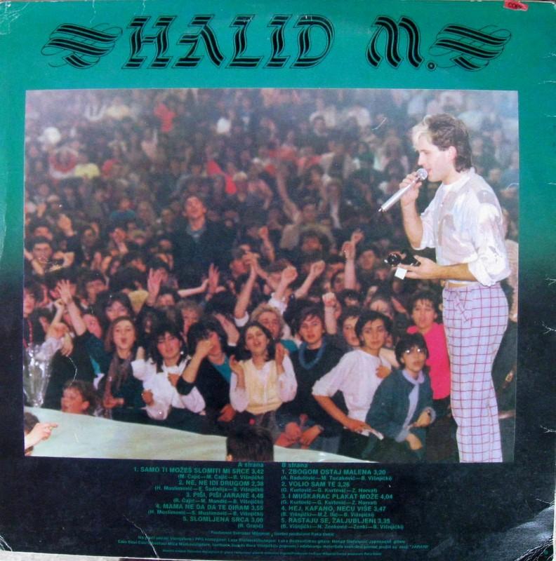 Halid Muslimovic - Diskografija Zadnja16