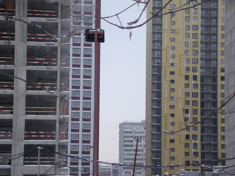 """На ЖК """"Летний сад"""" - начался монтаж фасадных конструкций! Теплозвукоизоляция под ними - лучше, чем у соседнего ЖК """"Город"""" - Страница 3 Dsc00113"""