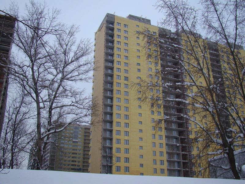 """На ЖК """"Летний сад"""" - начался монтаж фасадных конструкций! Теплозвукоизоляция под ними - лучше, чем у соседнего ЖК """"Город"""" - Страница 3 Dsc00212"""