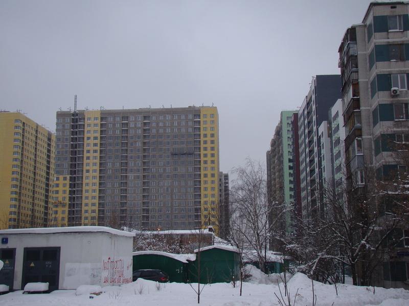 """На ЖК """"Летний сад"""" - начался монтаж фасадных конструкций! Теплозвукоизоляция под ними - лучше, чем у соседнего ЖК """"Город"""" - Страница 3 Dsc00213"""