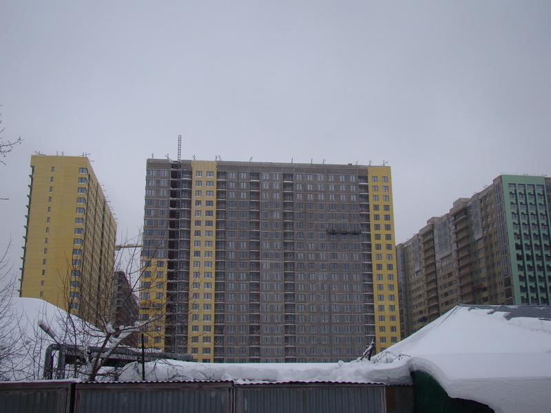 """На ЖК """"Летний сад"""" - начался монтаж фасадных конструкций! Теплозвукоизоляция под ними - лучше, чем у соседнего ЖК """"Город"""" - Страница 3 Dsc00218"""