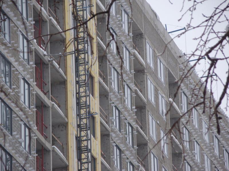 """На ЖК """"Летний сад"""" - начался монтаж фасадных конструкций! Теплозвукоизоляция под ними - лучше, чем у соседнего ЖК """"Город"""" - Страница 3 Dsc00219"""