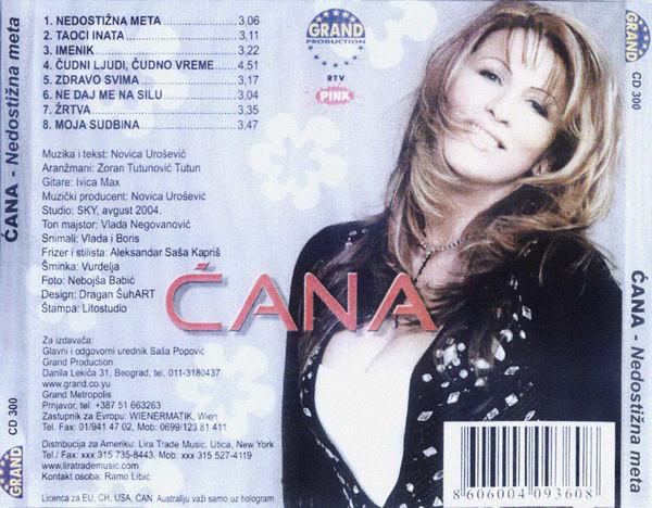 Stanojka Bodiroza Cana - Diskografija 2 R-119912
